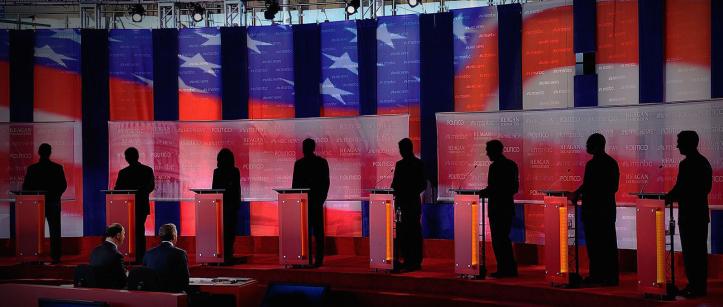 debate silhouette